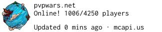 Minecraft Servers PvPWars