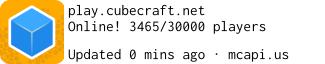 Minecraft Servers CubeCraft Games