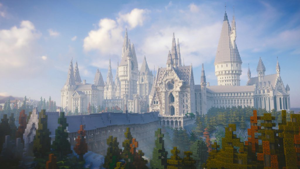 Minecraft Global Harry Potter World