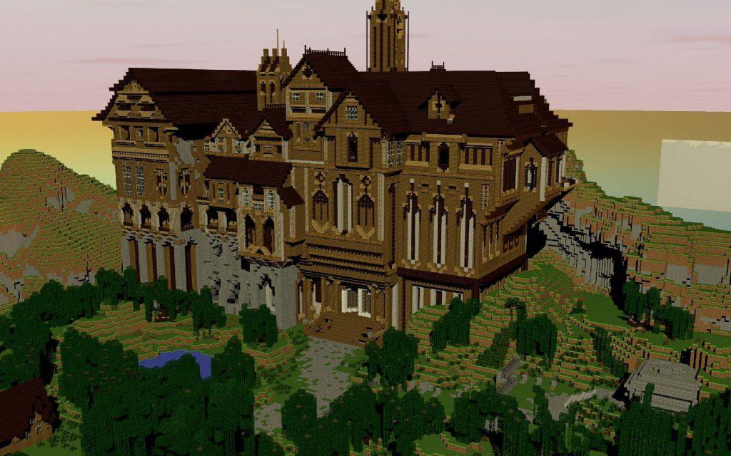 Minecraft Global Herobrines Mansion