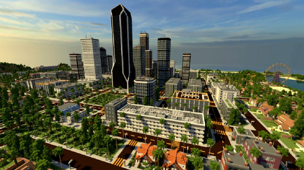 Minecraft Global Los Angelcraft Map