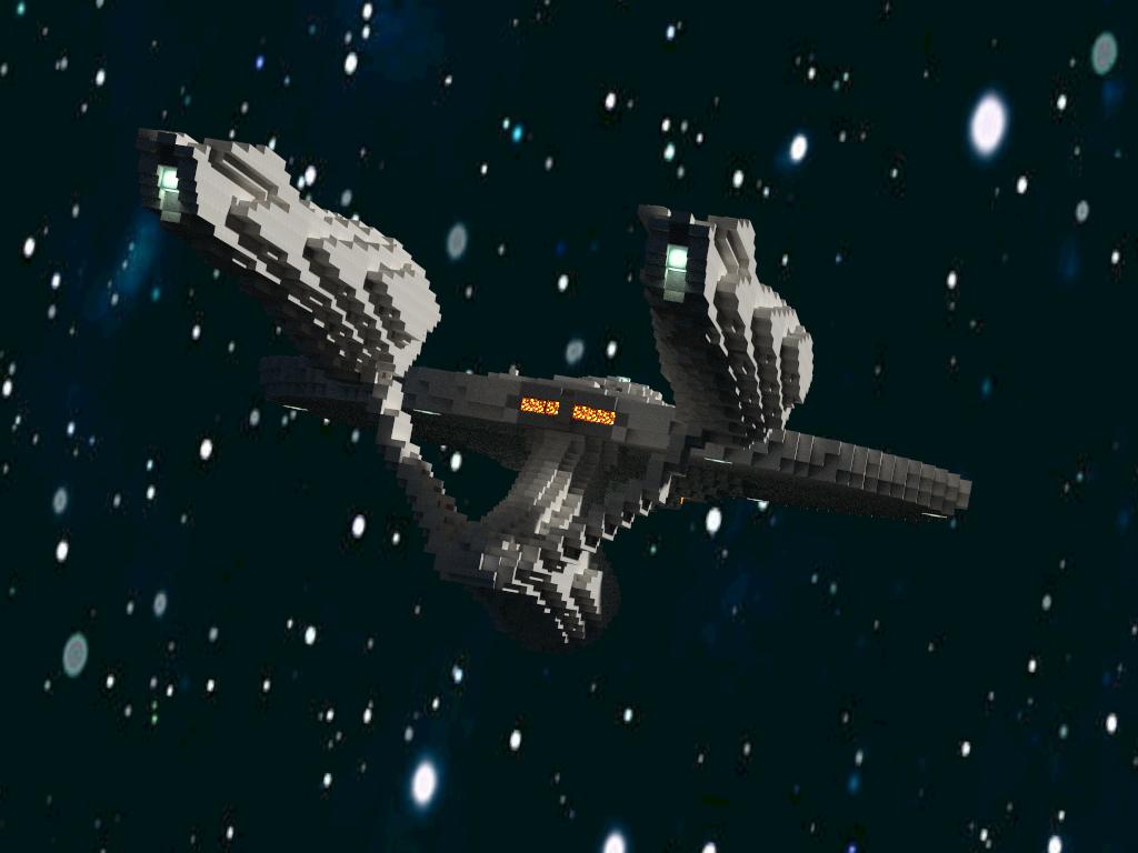 Minecraft Global Starship Enterprise map