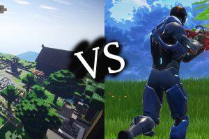 Minecraft vs Fortnite