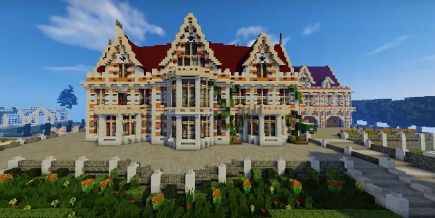 Cool Minecraft Houses - Minecraft Mansion