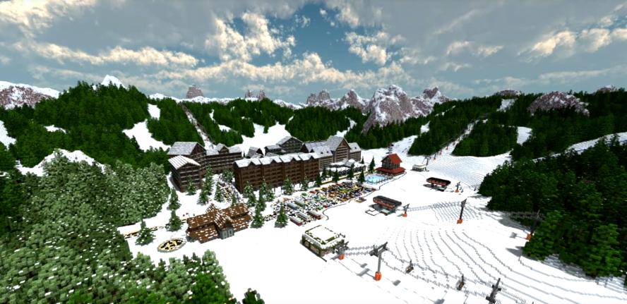 Minecraft Idea Ski Resort
