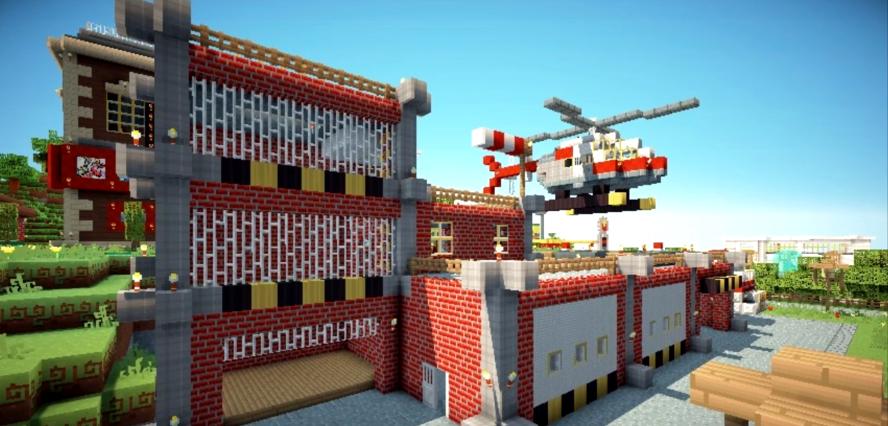 Minecraft Global Fire Station