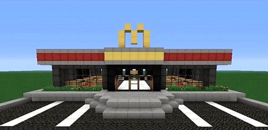 Minecraft Macdonalds