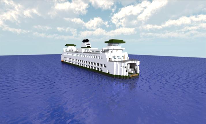 Minecraft Global Ferry