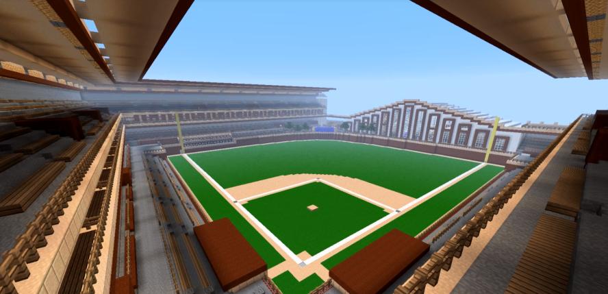 Baseball field design