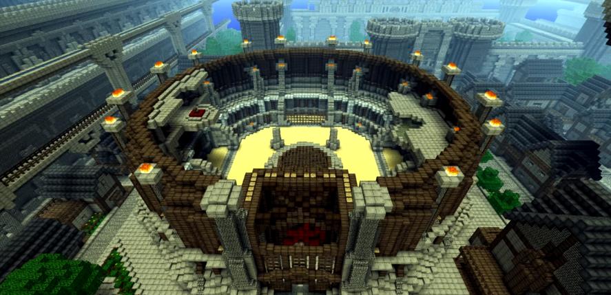 Minecraft Arena