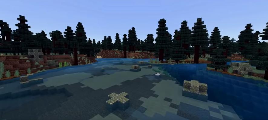 Minecraft pocket edition seeds - Mega Taiga biome