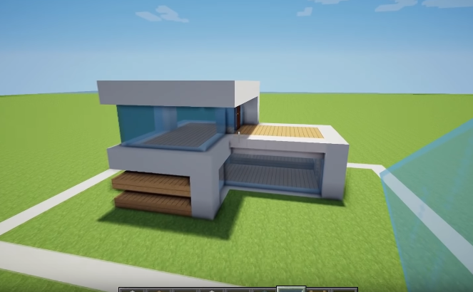 how to Build a minecraft house wall