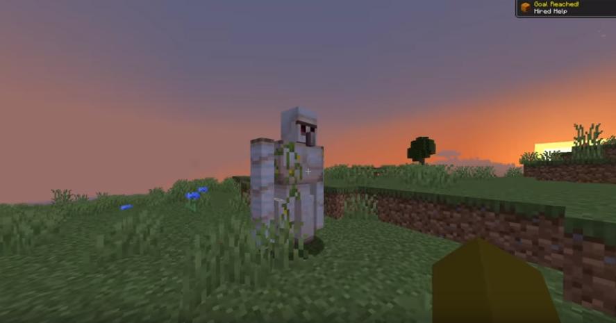 Minecraft Update - Iron Golem