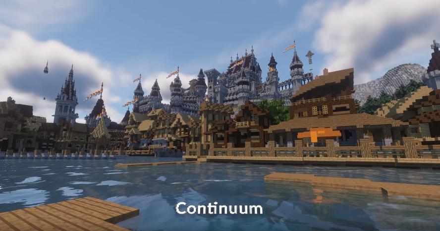 Continuum Minecraft shader