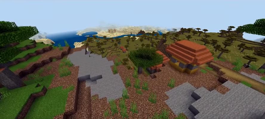 Epic Savanna Village Minecraft
