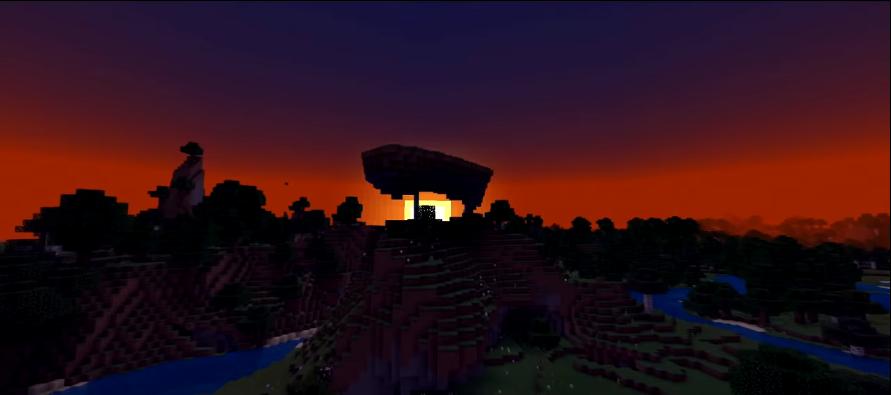 Minecraft seed Terrain