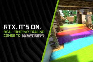 Minecraft with Ray Tracing
