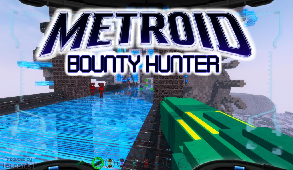 Minecraft Adventure map - METROID