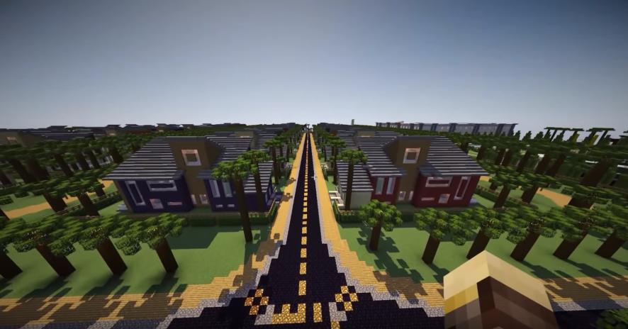 Alleron City Minecraft city map