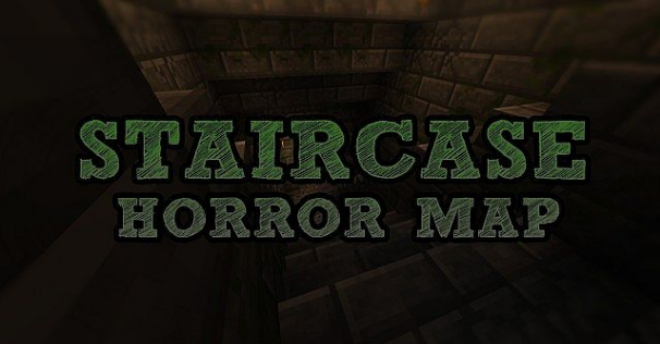 Staircase Minecraft horror map