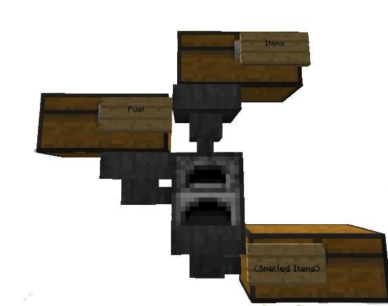 Automatic Smelter Minecraft