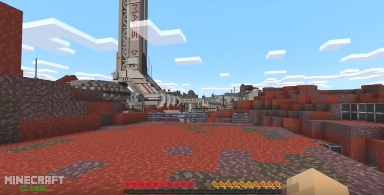 Minecraft Mars Base Camp