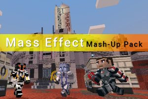 Minecraft Mass Effect Mash-Up Pack