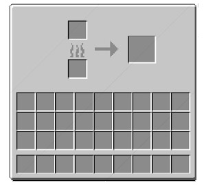 Minecraft Smelting Interface