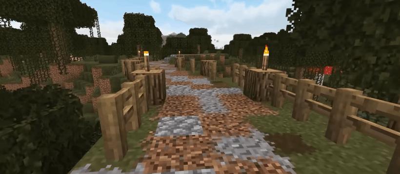 Minecraft railway