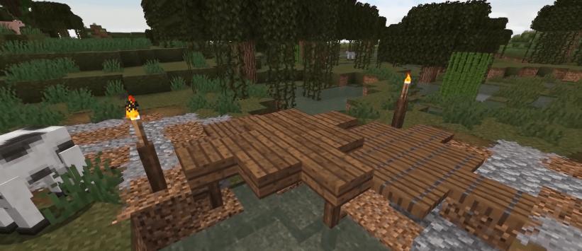 broken away roadways - Ideas to build in Minecraft