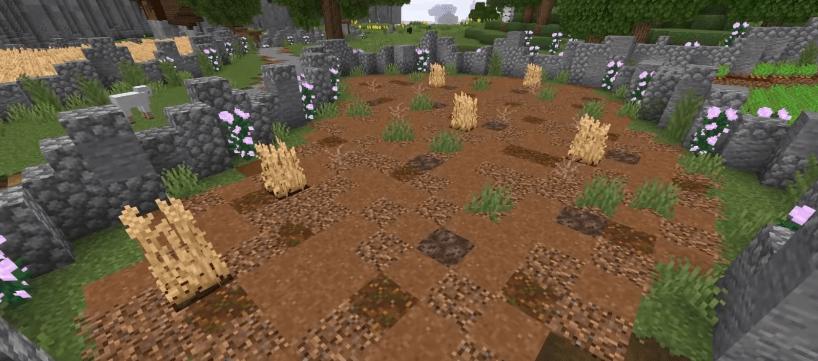 dead field - Ideas to build in Minecraft