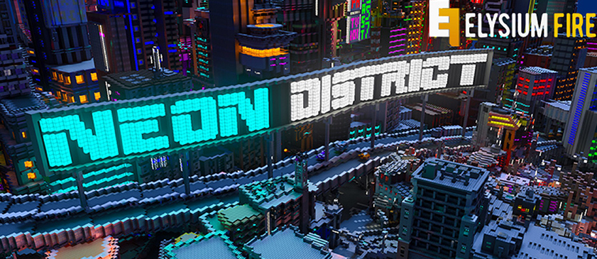 Neon District Creative Map