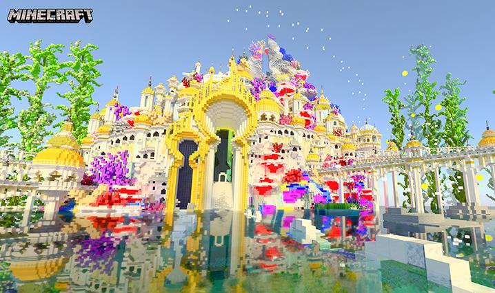 Minecraft with RTX Beta Map - Aquatic Adventure