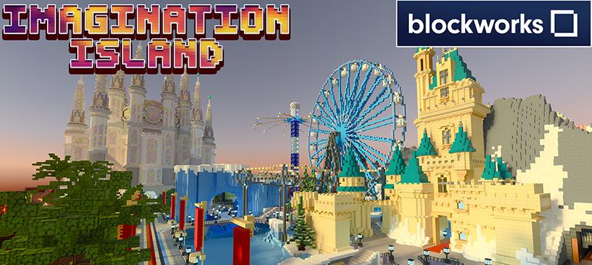 Minecraft RTX Map - Imagination Island