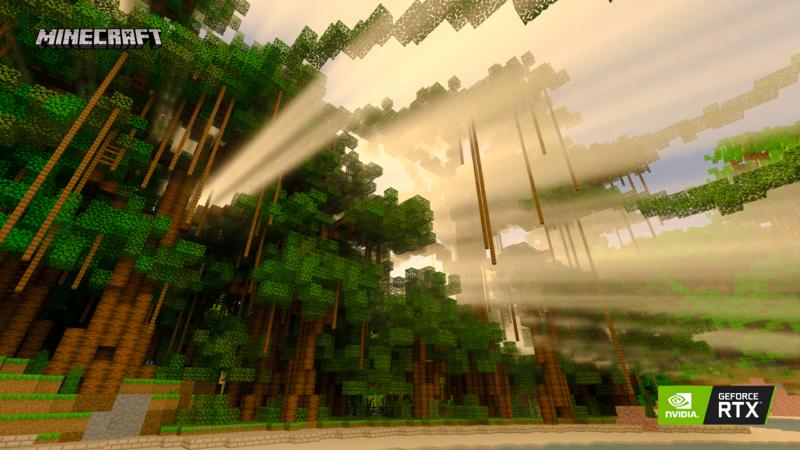Minecraft with RTX Beta Lighting