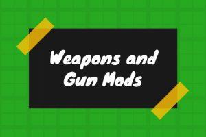 best Minecraft weapons and gun mods