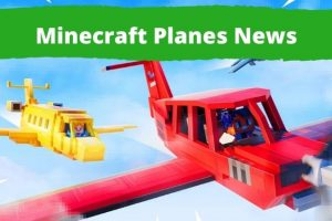 Minecraft planes are Here!