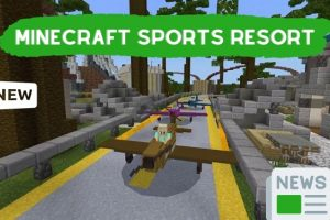 Welcome to the Minecraft Sports Resort
