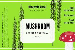 Minecraft Mushroom Farming Tutorial