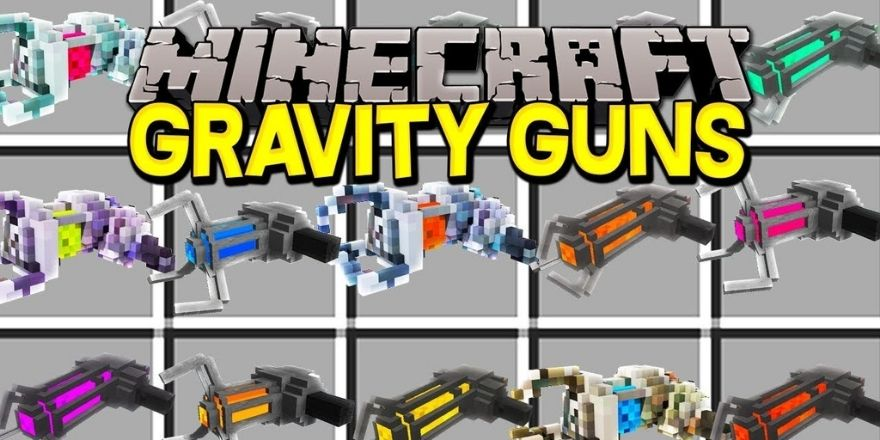 Gravity gun mod Minecraft