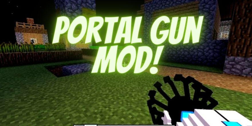 Portal gun mod Minecraft