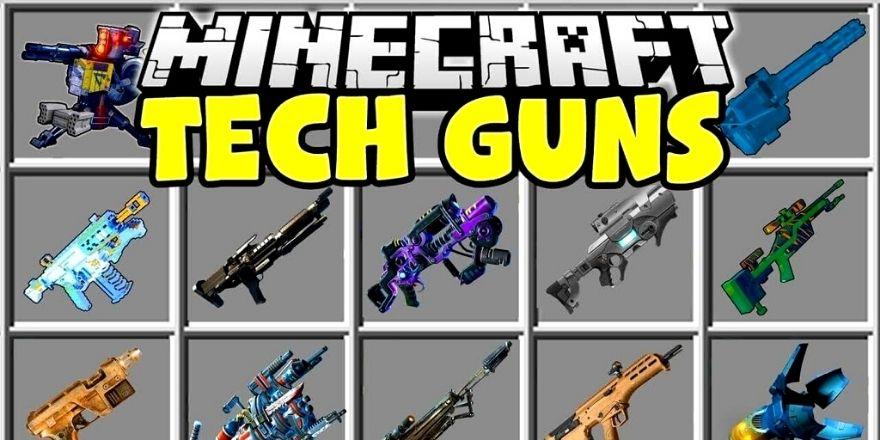 Techs guns mod