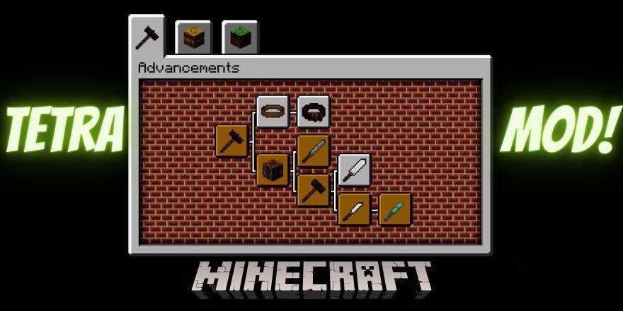 Tetra mod Minecraft
