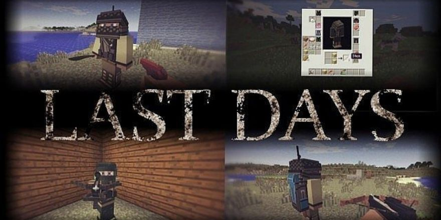 Last days mod - Minecraft weapons and gun mods